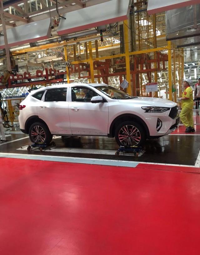 长城新款SUV哈弗F7来了,外观比魏派还漂亮,内饰堪比上百万豪车