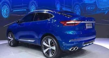 哈弗再推概念车,外观直逼宝马X6,将会搭载一台混合动力系统
