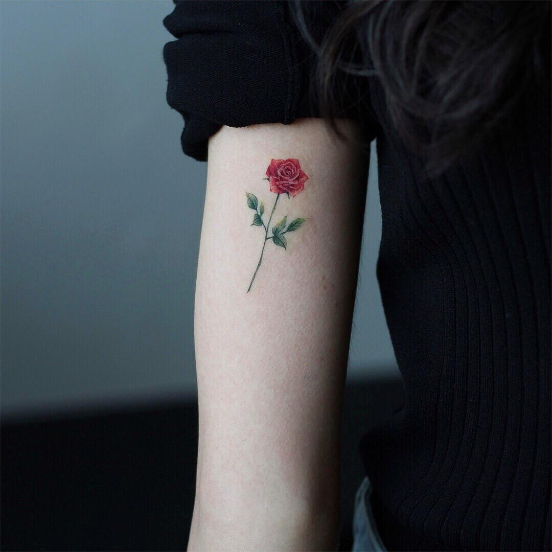 韩国小清新简约纹身图案,适合女生.ins: vane_tattoo