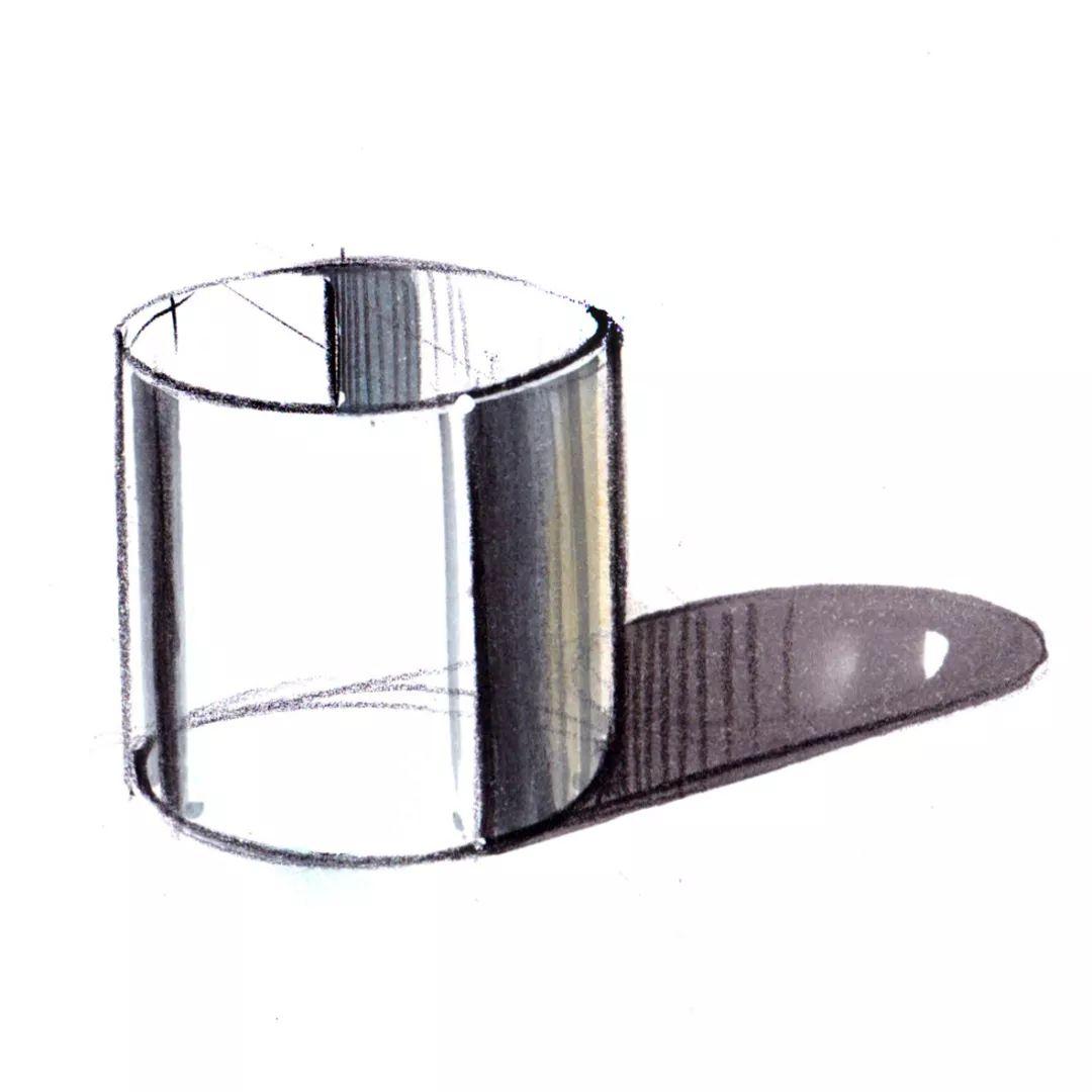 【设计课堂】工业设计手绘——金属材质理论基础篇!