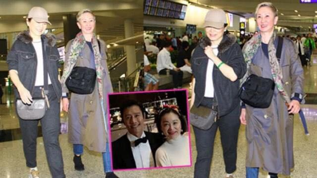 64岁林青霞与67岁施南生同框,发福的林青霞输惨了