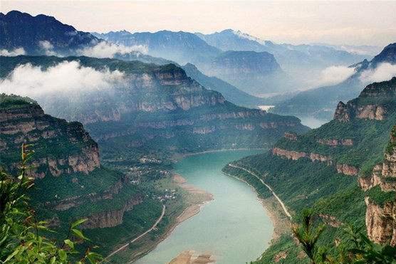 """山西被忽视的一处景区,景色壮观门票全免,被称为""""北方张家界"""""""