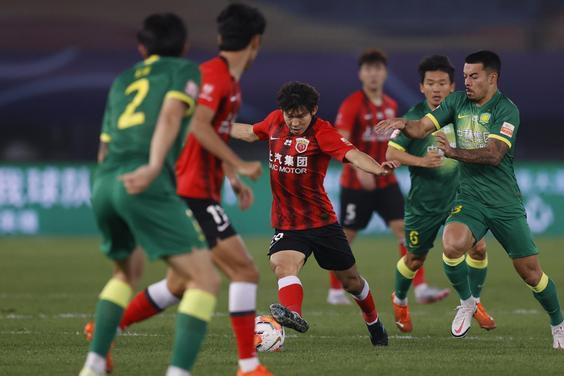 中超季军争夺战!北京国安1-0上海上港!杨世元下轮停赛