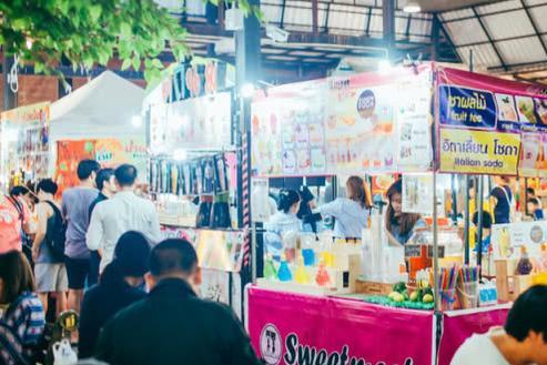这个游客基本没听说过的曼谷另类小众集市,却是当地人的最爱!