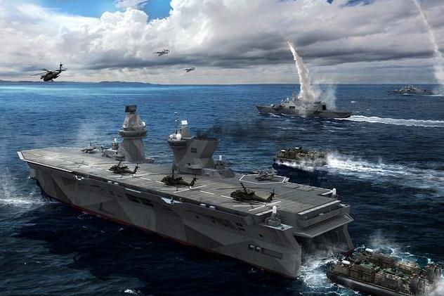 没有垂直起降战机,将是075型两栖攻击舰的硬伤?其实影响不大