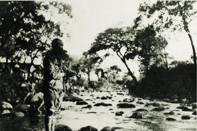 抗战老照片,80年前日寇占领庐山,一个世外桃源被魔鬼糟蹋了