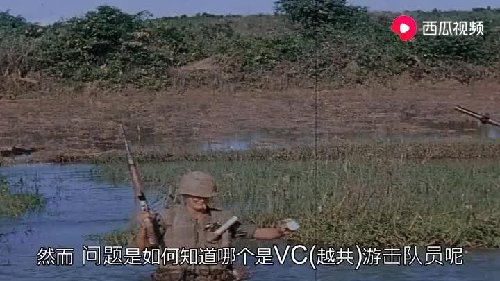 高清越战:美海军陆战队在越南南方登陆,一半人之前从没听说越南