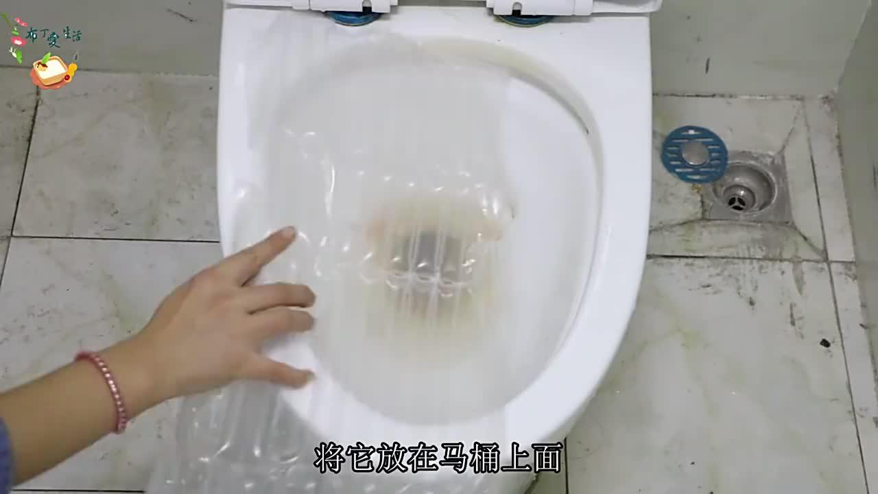 快递里的防震气泡柱放进厕所里,一年能省下几百元,看后别乱丢了