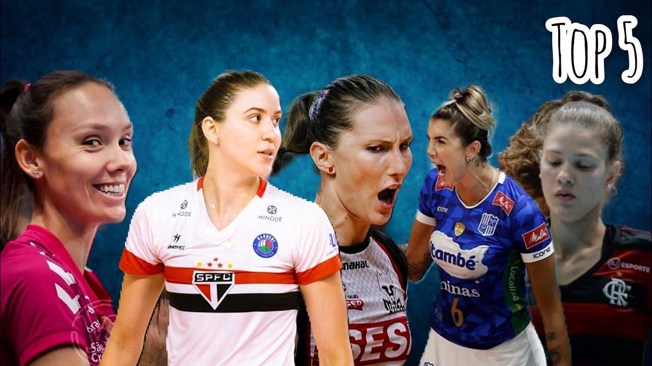 看看谁是Ace Baby?巴西女排联赛TOP5发球小能手~