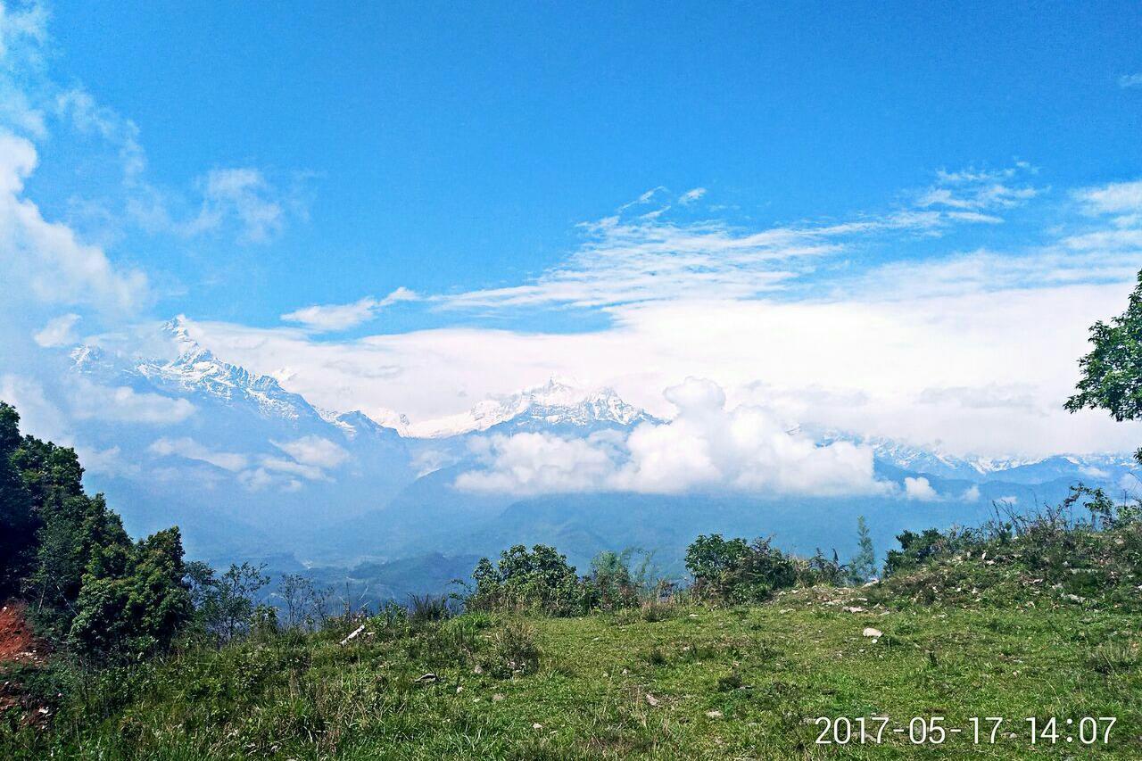 游览 南亚 尼泊尔 博卡拉 萨朗科