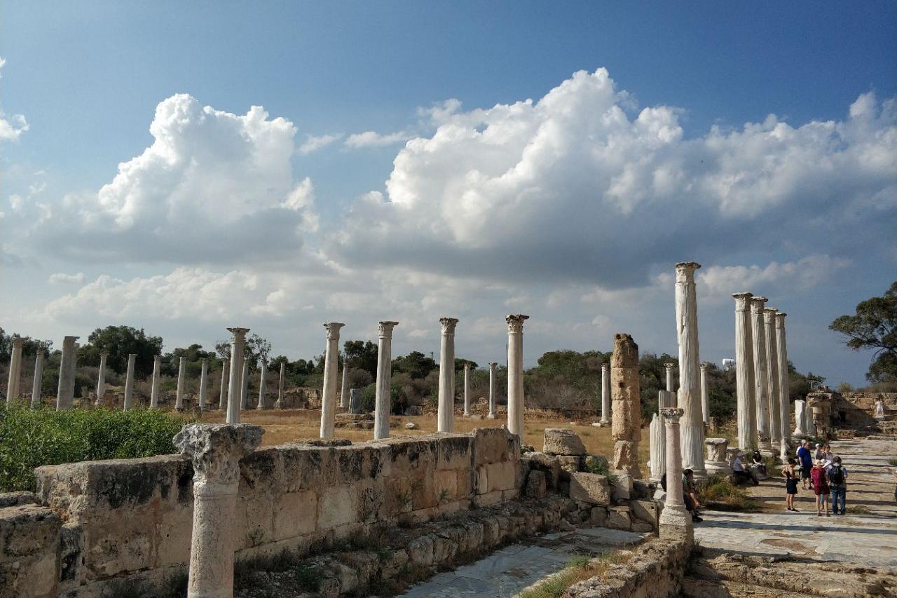 游览 塞浦路斯 法马古斯塔古城