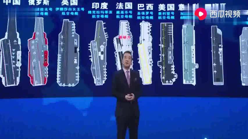 张召忠说:研究航母多年,知道和美国的航母水平差距