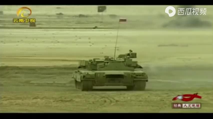 俄罗斯T80轻型坦克,配备1200马力发动机,现代坦克中的超级跑车