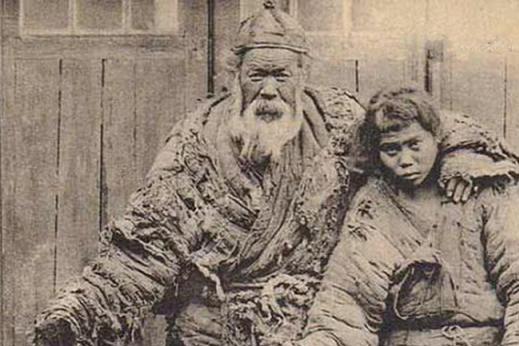 """老年间,乞丐有个""""三老门"""",这一门有个绝活,令人又怕又怜"""