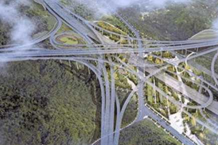 重庆最大、最复杂的立交桥,共5层20匝道,连导航都无能为力