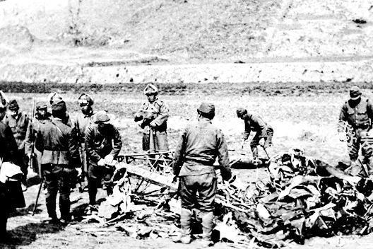 日军官宣牺牲的中国空军中尉 奇迹般地活了下来 隐姓埋名无人知晓