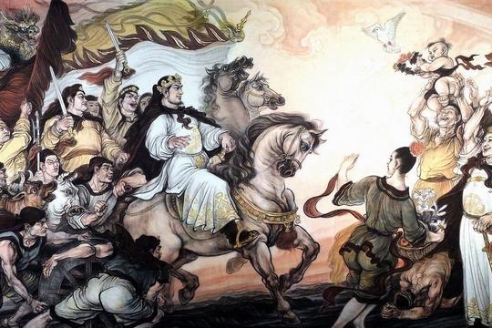 双髻山之战:清军抄小路到太平军后方,太平军营中起火全军溃逃