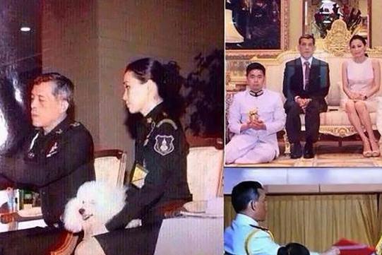 泰国玛哈国王和苏提达王后的合影,一组老照片见证玄机