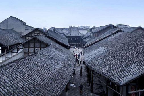 向往的一座四川古镇:当地生活节奏慢,一壶茶就能打发半天光阴