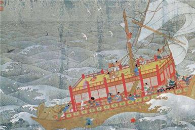 """日本援助武汉的物资上,写的""""山川异域,风月同天""""?是什么意思"""