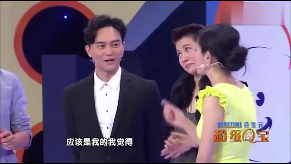 主持人直言袁咏仪是不合格的妈妈 张智霖:没有,她是爸爸!