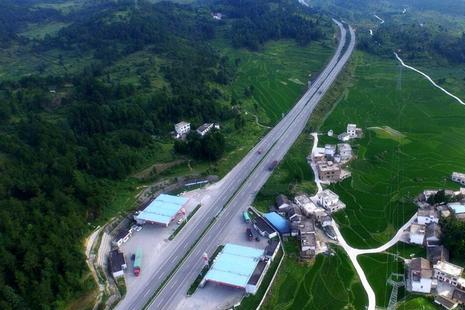 """中国""""最贵""""的高速公路收费口:可大家都欣然交费,掏钱很痛快!"""