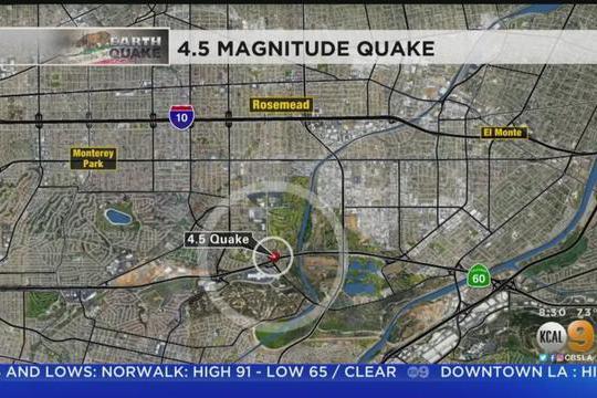 吓醒了!洛杉矶华人区发生地震!大半夜感觉墙都要裂开了!
