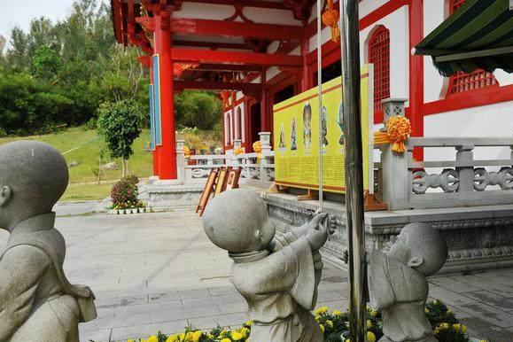 中国海上有尊最大的菩萨:高108米,建六年 被誉为世界级佛像!