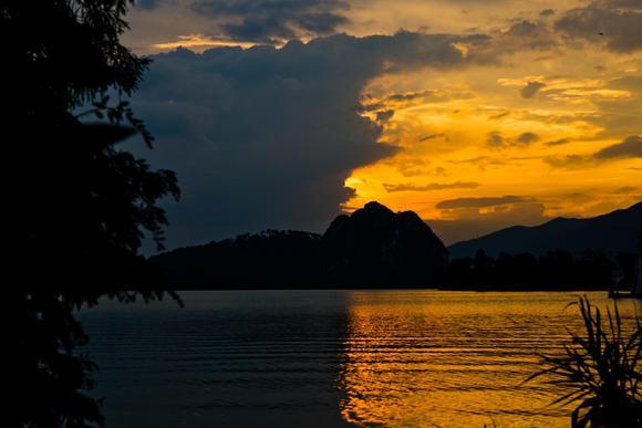 广东首个国家湿地公园,就藏肇庆市,其自然风光绚丽山水融为一体