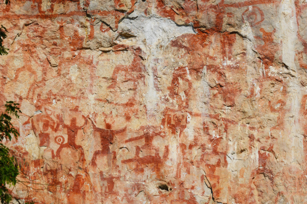 花山岩画不仅是骆越人传统的独特记忆,它还是这一传统的唯一见证