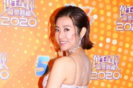 万千星辉2020红毯:陈自瑶极限性感,马国明与汤洛雯合体现身