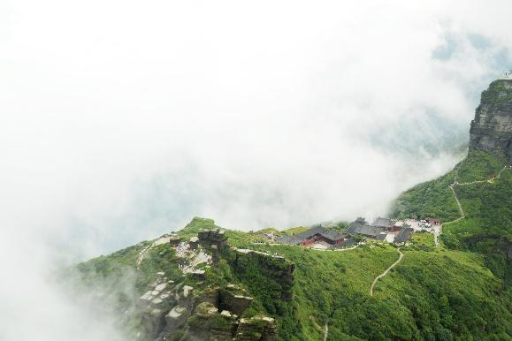 中国最年轻的世界遗产,与峨眉山齐名为五大佛教名山之一
