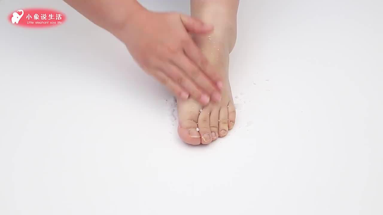 脚上抹一把盐,不管男人女人都需要,太厉害了,学会了受用一生
