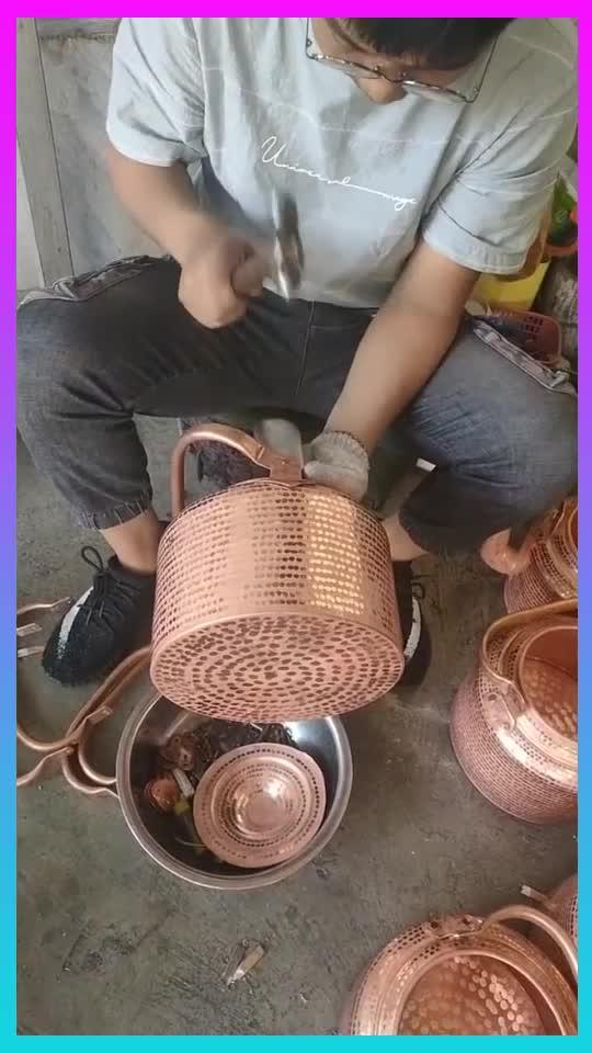 快要失传的传统手艺,手工做的壶就是好,果然高手在民间!