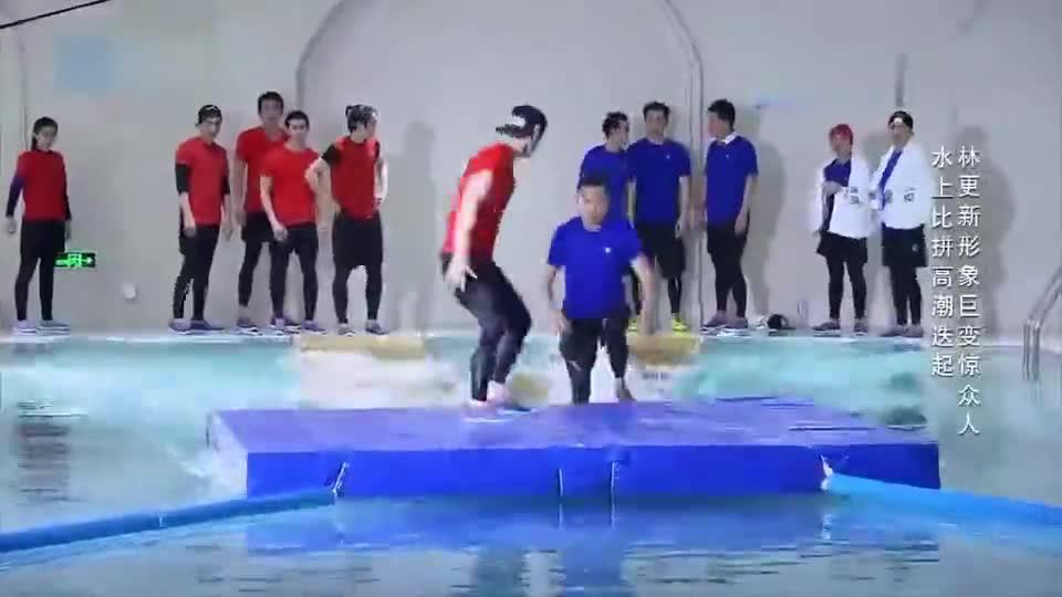 奔跑吧兄弟:张艺兴首次参加跑男,竟一个人对抗邓超,太牛了!