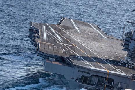 11艘美军航母倾巢而出,谁才能应对自如?俄专家:只有一国能行!