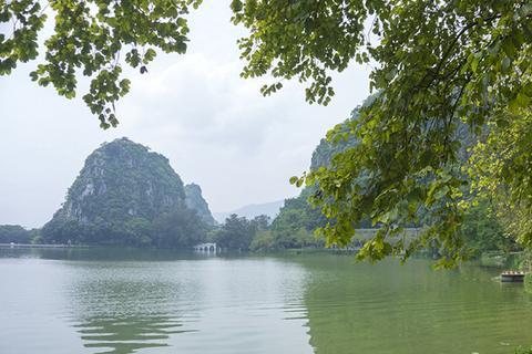 """广东一奇观:酷似北斗七星,网友说是""""小桂林"""""""