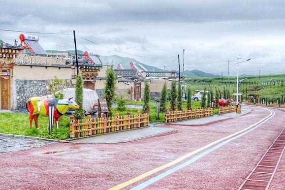 曾是甘肃最低调古村 今成全国旅游标杆 被誉距城市最近的世外桃源
