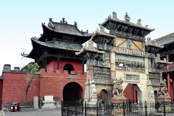 中国最大关帝庙 罕见供奉全球唯一关公侧身坐像却少有人知!