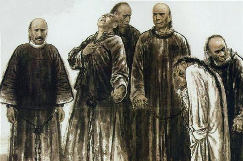 戊戌六君子押赴刑场时,围观百姓为何欢呼雀跃?鲁迅此话刺痛人心
