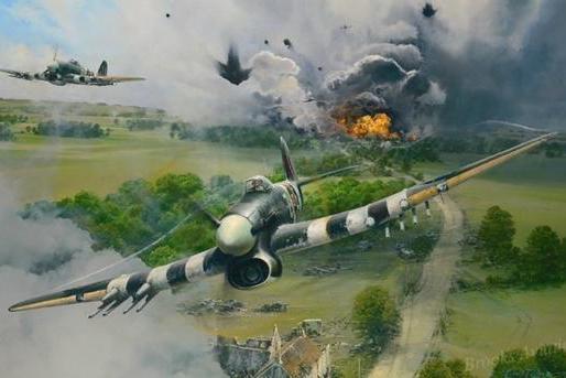 德军在诺曼底的失败,并非败于陆军,而是碰见了好天气的空军海军
