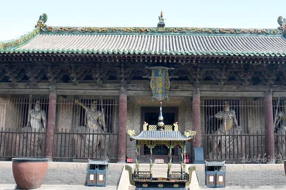 """山西这座寺庙 供奉""""天下第一韦驮菩萨"""" 入选世界遗产却少有游客"""