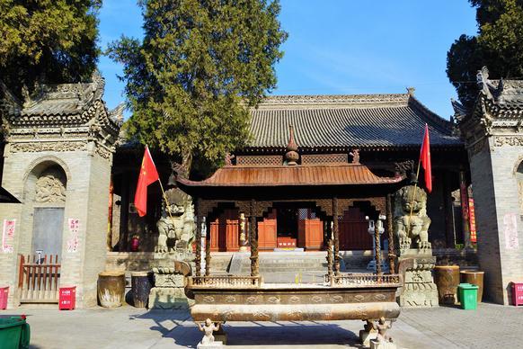 大雁塔游客3000万,玄奘安葬的兴教寺,不收门票,很多人不知道
