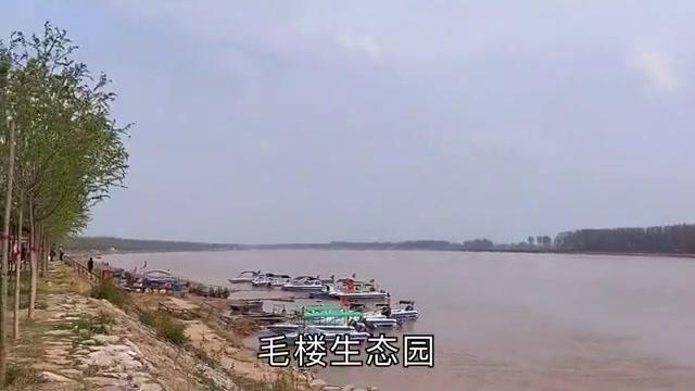 河南省范县的知名景点!郑板桥纪念馆依黄河滩而建立!