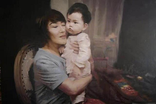 杜若溪父亲为肉肉作画,遭闺女吐槽:我小时候没这待遇