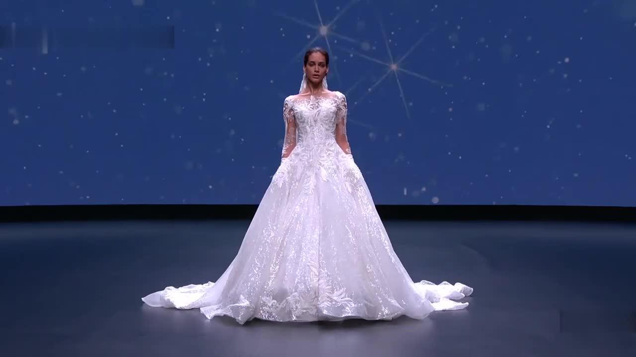 阿米莉亚卡萨布兰卡巴塞罗那新娘时装秀