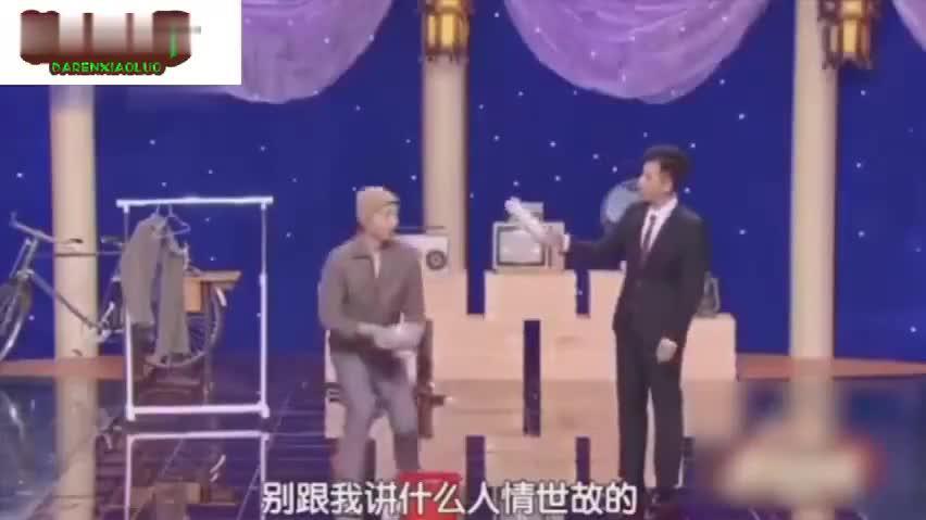 陈佩斯朱时茂含泪看儿子演《吃面》……