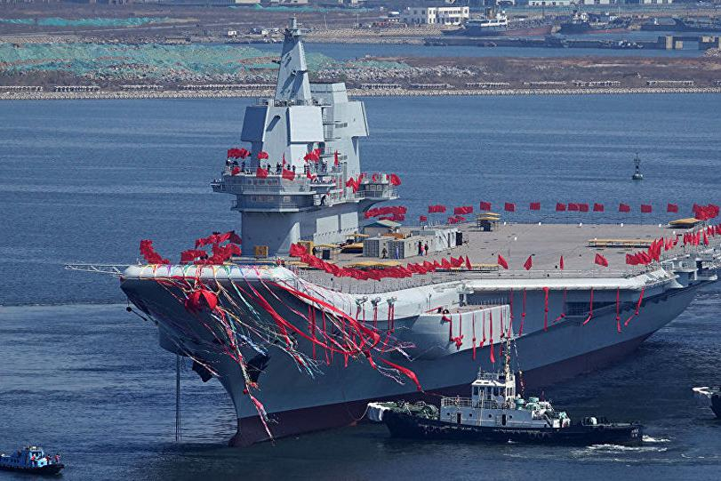 4月18日全球军事:《国家利益》谈001A型航母(山东舰)的优势