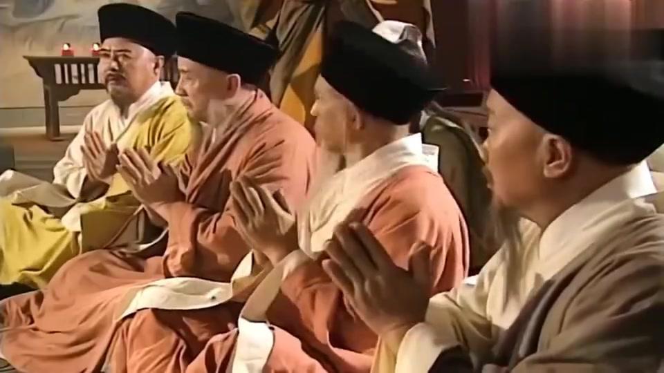 天龙八部:枯荣大师六脉神剑对战吐蕃高僧,无奈功力不够