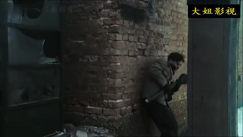 二战电影:苏军攻入德国城市展开巷战,德军在断壁残垣中负隅顽抗